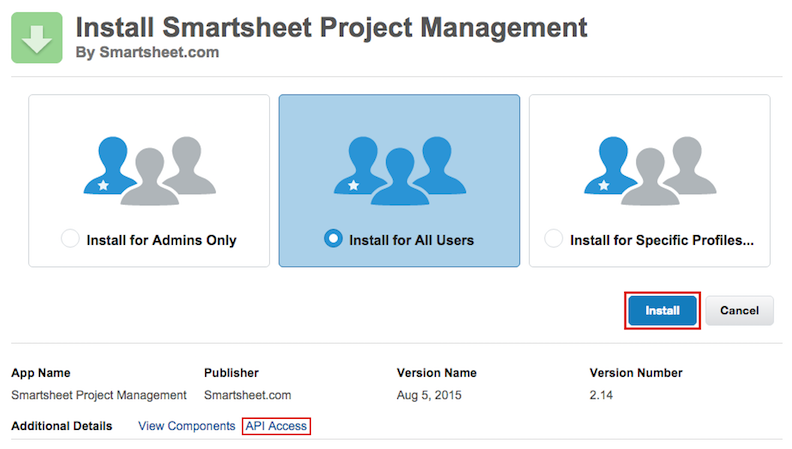 Smartsheet for Salesforce - User Guide